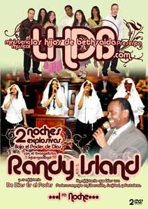 LHDB Presenta Evang. Randy Island - 1ra Noche - 2 DVDs $17.99
