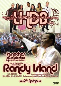LHDB Presenta Evang. Randy Island - 2da Noche - 2 DVDs $17.99