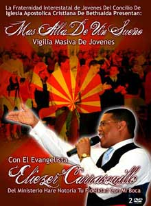 Mas Alla De Un Sueo - Evang. Eliezer Carrasquillo  - 2 DVD $17.99